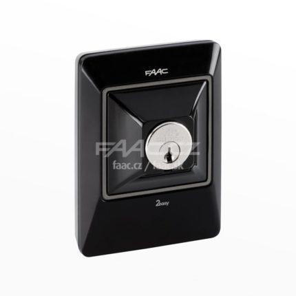 Klíčový spínač FAAC XK10 B INOX (401046)