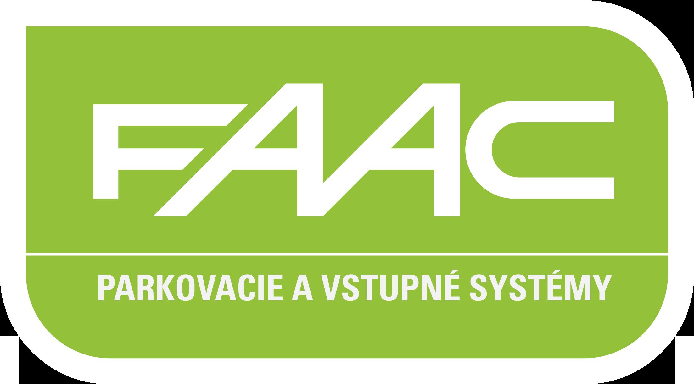 Parkovacie a vstupné systémy FAAC